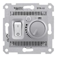 Терморегулятор для тёплого пола Алюминий Sedna SDN6000360