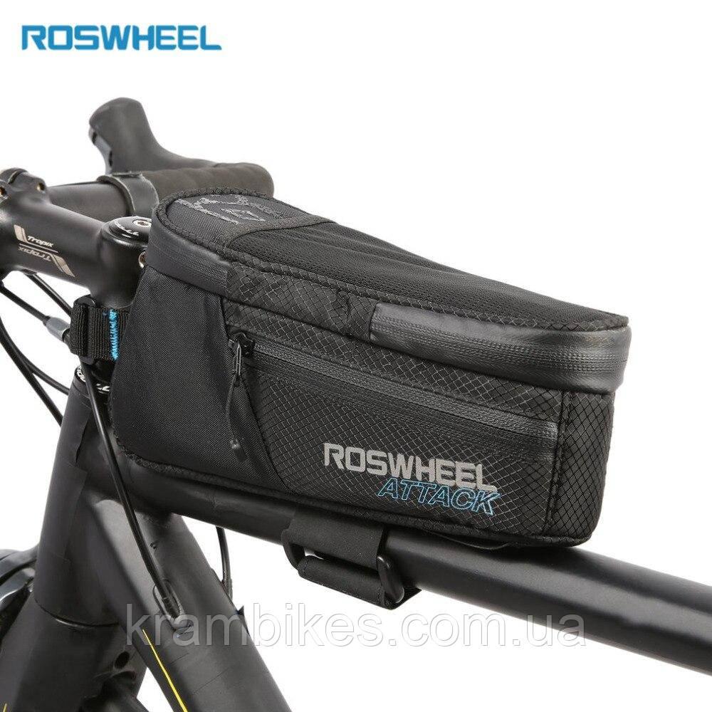 Сумка на раму Roswheel - Attack 121370 Чёрный