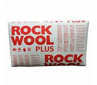 50,100,150мм Мінвата Rockwool rockmin plus для даху мінеральна вата роквул ціна м2 дахова минвата утепление