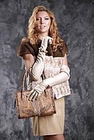 Жилет из канадской норки NAFA цвета пастель и стриженой норки , фото 1