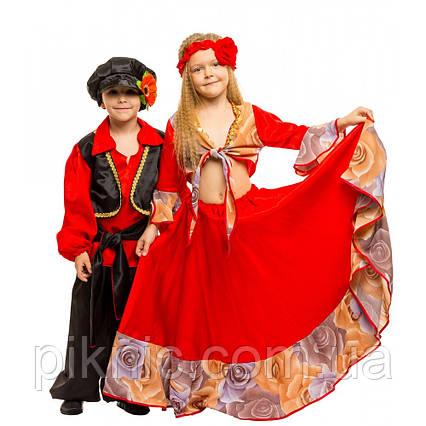 Костюм Цыганочка 7,8,9 лет Детский новогодний карнавальный костюм для девочки 344, фото 2