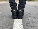 Зимние мужские кроссовки Nike Air Force Mid Winter Black с мехом теплые. Живое фото(Реплика ААА+), фото 8