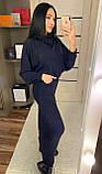 """Теплое платье рукав """"летучая мышь"""" / ангора Арктика / Украина 1-533, фото 7"""