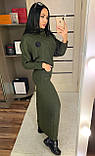 Длинное платье ' Дина' / ангора / Украина, фото 4