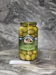Оливки гіганти Bravo чистий вага 550 грм