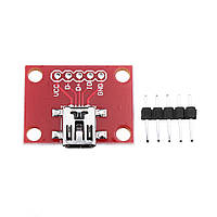Конверсионный модуль Mini USB 30шт для расширения питания USB Mini-B-1TopShop