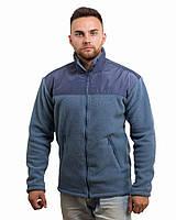 Мужская флисовая кофта-куртка (размеры S-3XL)