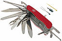 Нож складной, мультитул Victorinox Workchamp XL (111мм, 30 функций), красный 0.8564.XL, фото 2