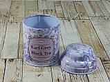 Железная банка для чая и кофе 75г Ерл Грей, фото 6