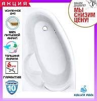 Акриловая ванна 170x110 см Koller Pool Karina левосторонняя