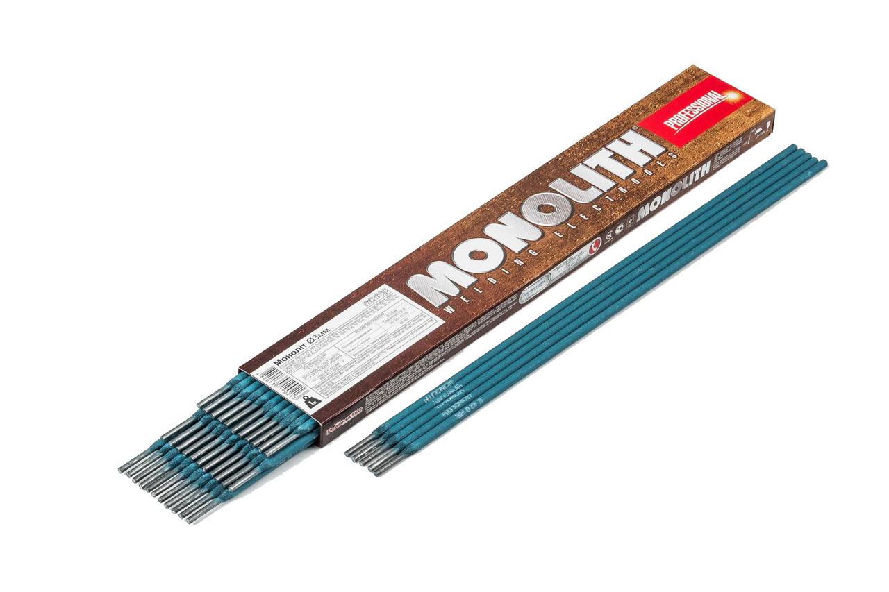 """Электроды Монолит """"MONOLITH"""" PRO Ø 3 мм (упаковка - 1 кг)"""