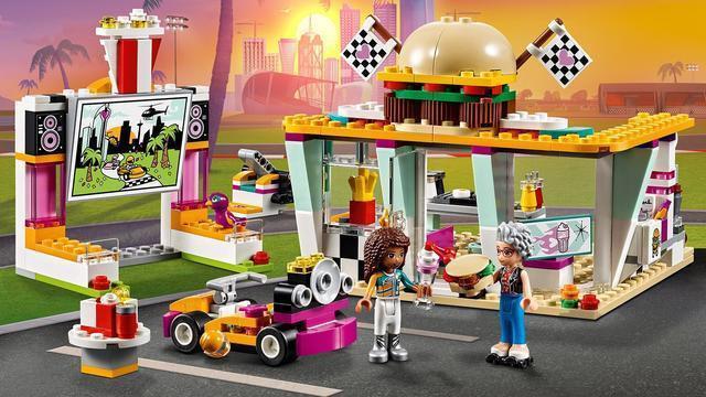 """Конструктор Friends SY1157(Аналог Lego Friends 41349) """"Передвижной ресторан""""360 деталей"""