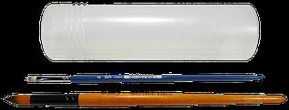 Пенал для кистей пластиковый телескопический  Атлас,205-330 мм К-4013м