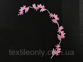 Нашивка Гілка Рожевих Квітів 30x315 мм, фото 2