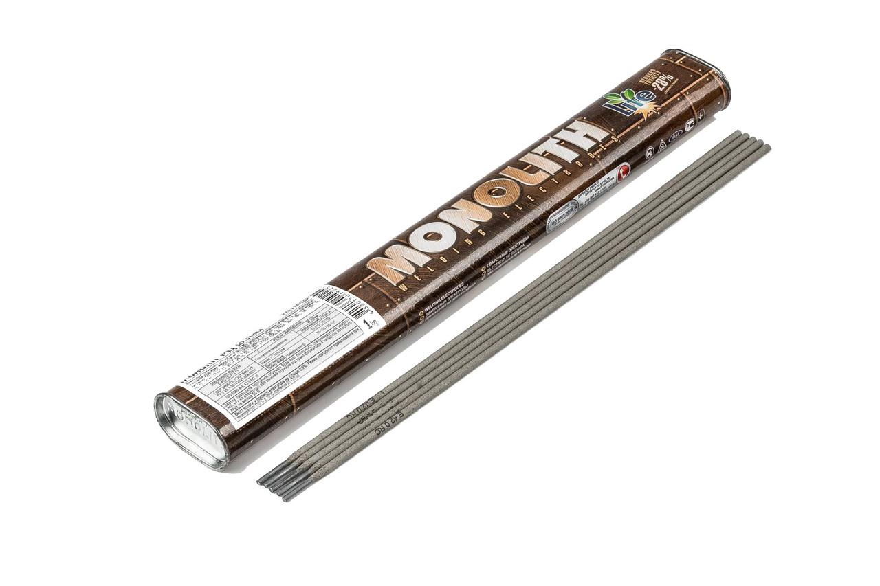 "Электроды Монолит ""MONOLITH"" РЦ Ø 2,5 мм (упаковка тубус - 1 кг)"