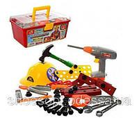 Детский набор инструментов в чемодане 48 предметов