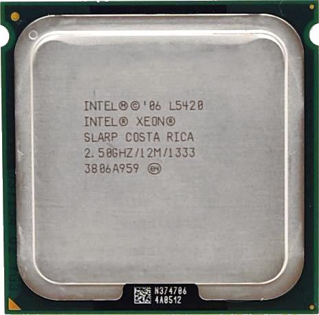 Процессор Intel Xeon L5420 C0 4-ядра 2.50GHz для LGA775 50W + термопаста GD900