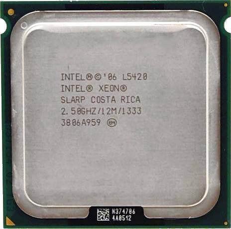 Процессор Intel Xeon L5420 C0 4-ядра 2.50GHz для LGA775 50W + термопаста GD900, фото 2