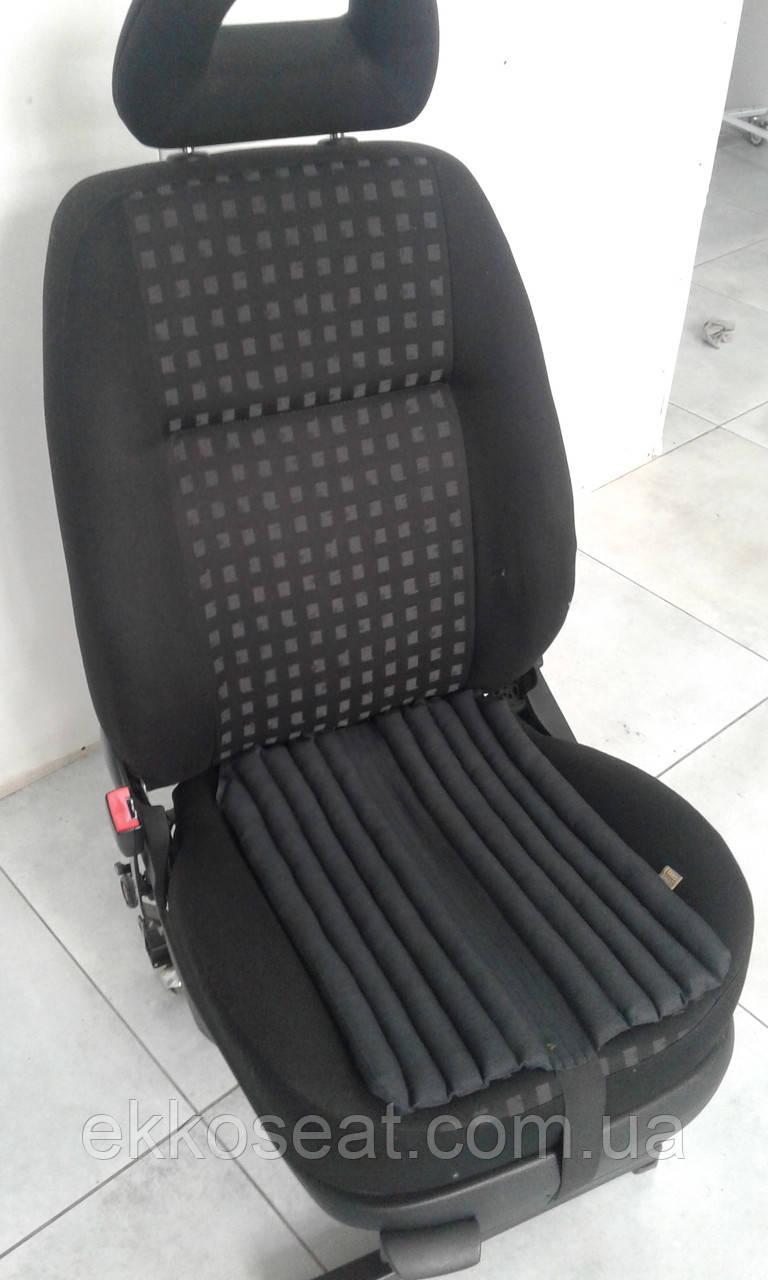 Ортопедическая подушка для сидения  EKKOSEAT для водителя. С эффектом овчины.