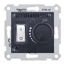 Терморегулятор для тёплого пола Графит Sedna SDN6000370