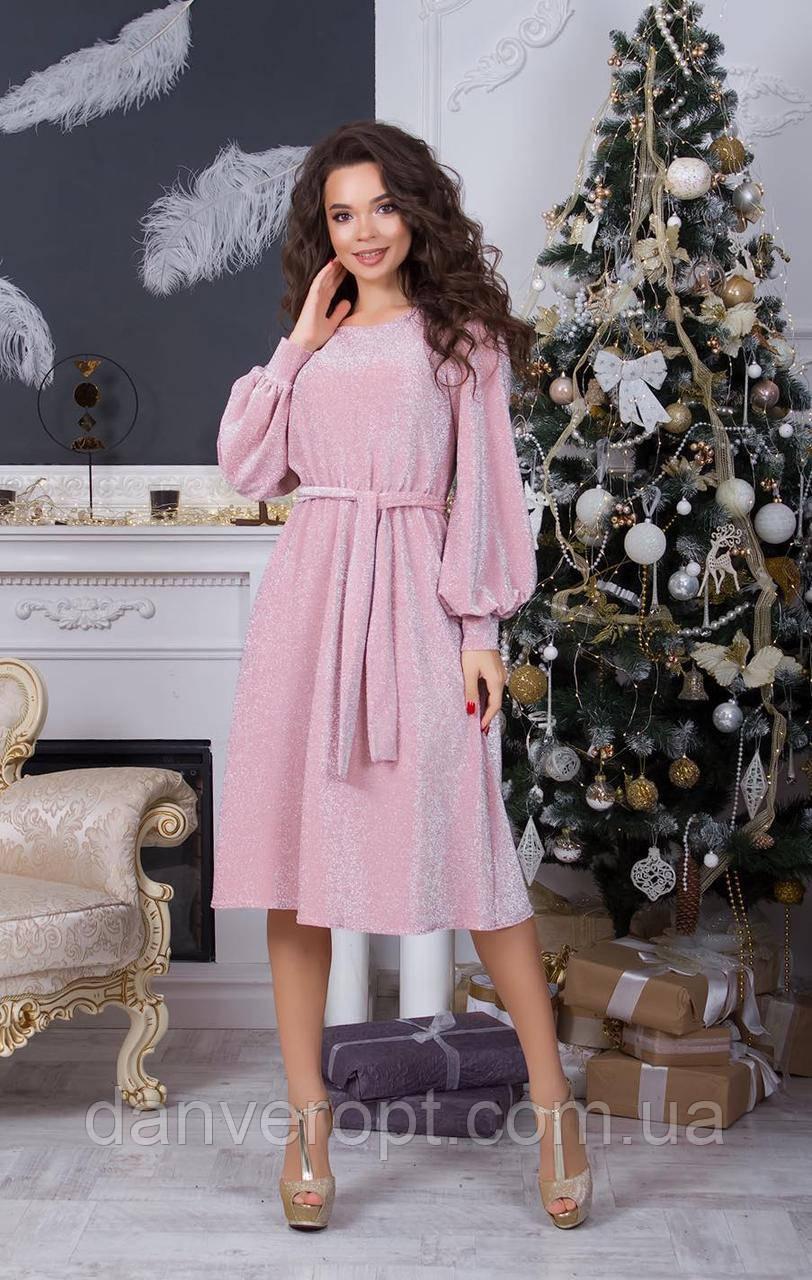 Платье женское элегантное размер 42-48 купить оптом со склада 7км Одесса