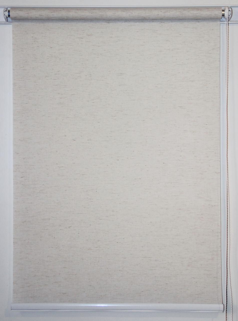 Рулонная штора 1250*1500 Flax Крем