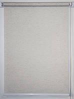 Рулонная штора 1250*1500 Flax Крем, фото 1