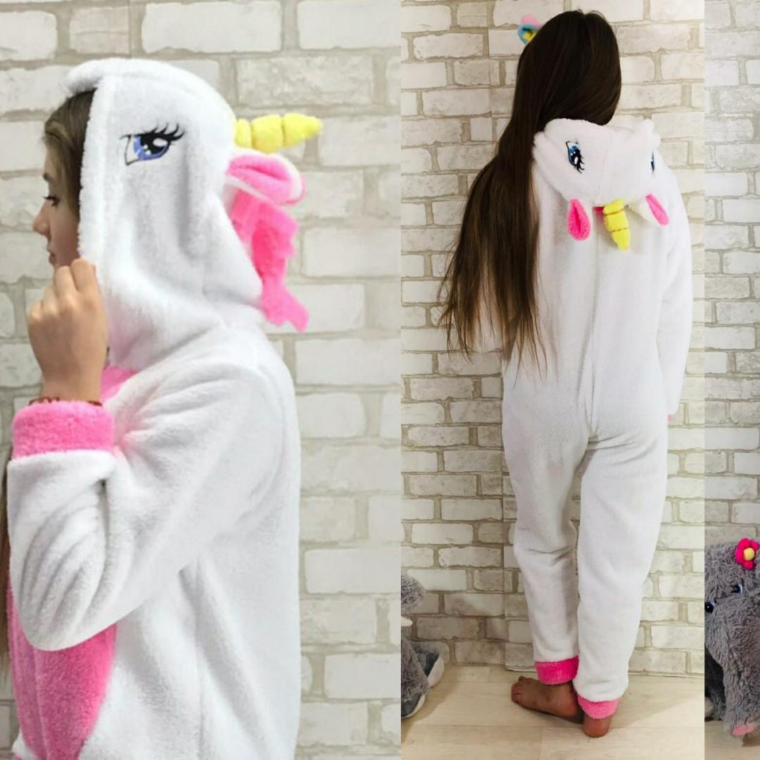 Кигуруми Единорог(цельная пижама) для девочки
