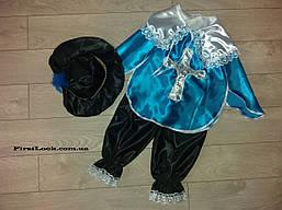 Детский новогодний костюм МУШКЕТЕР на мальчика