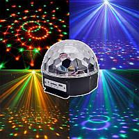 Диско шар MP3 LED Magic Ball Light с пультом