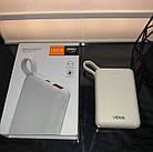 Power Bank швидкої зарядки 10 тис. мАч,Vidvie PB744,білий, фото 5