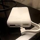 Power Bank швидкої зарядки 10 тис. мАч,Vidvie PB744,білий, фото 10
