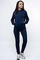 Узкие повседневные брюки джеггинсы 42-52 размеры темно-синие