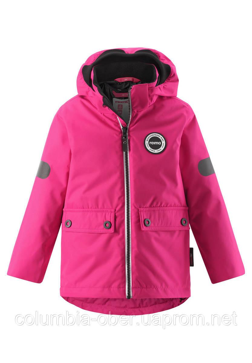 Демисезонная куртка для девочки Reimatec Seiland 521559.9-4650. Размер 110.