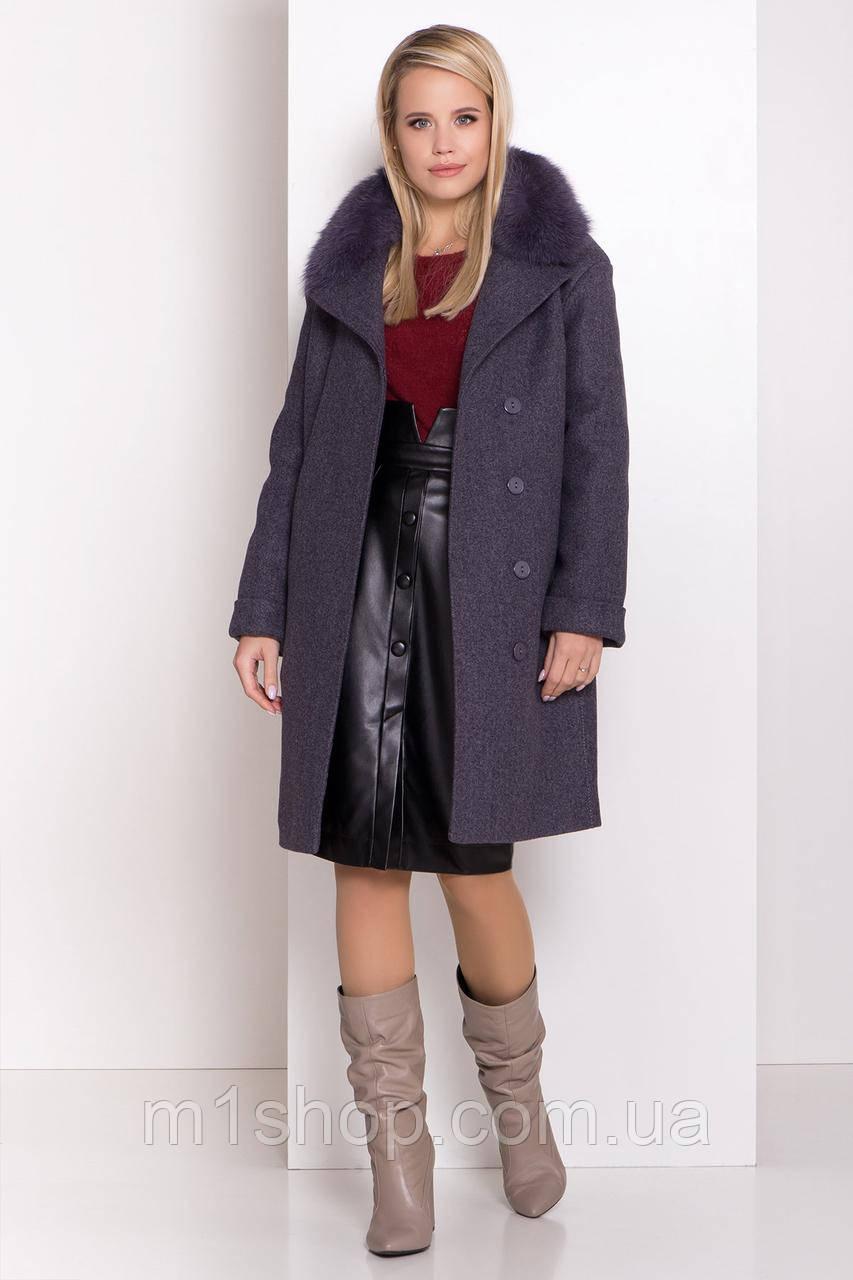 зимнее пальто женское Modus Лизи 8170