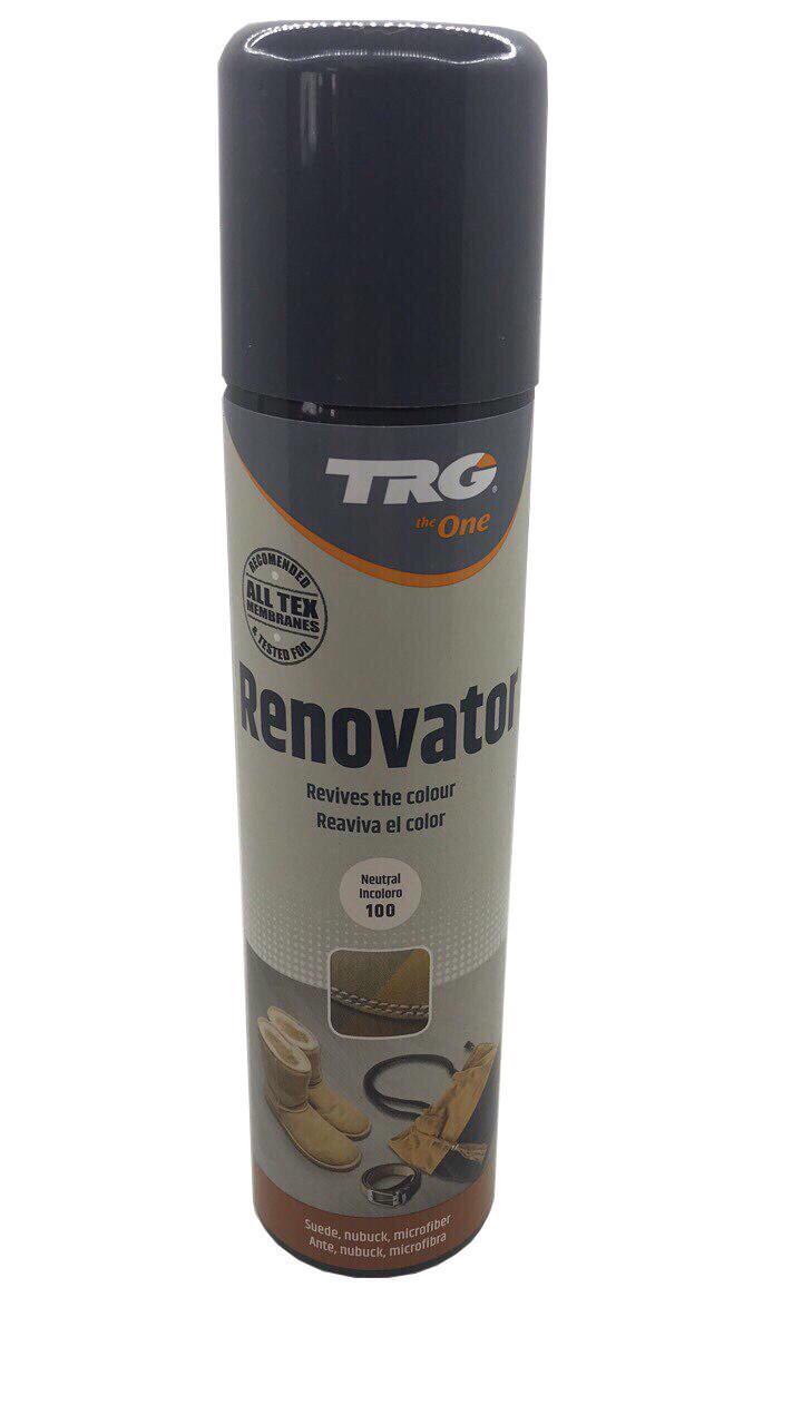 Краска цвет оливковый для замши и нубука TRG Renovator 250ml #134