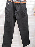 Детские брюки looks черные (школа)