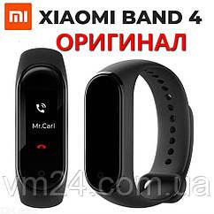Фитнес-браслет Xiaomi Mi Smart Band 4 (Black)  ОРИГИНАЛ!+гидрогель пленка  подарок
