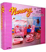 Набор мебели 9409 для Барби детская комната