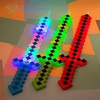 Меч Майн Крафт светящийся со звуковыми эффектами 61,5 см, фото 2