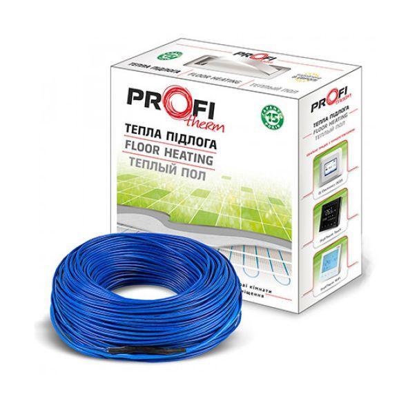Двухжильный нагревательный кабель ProfiTherm / 7.5 м / 0.8 - 1.1 м² / 140 Вт