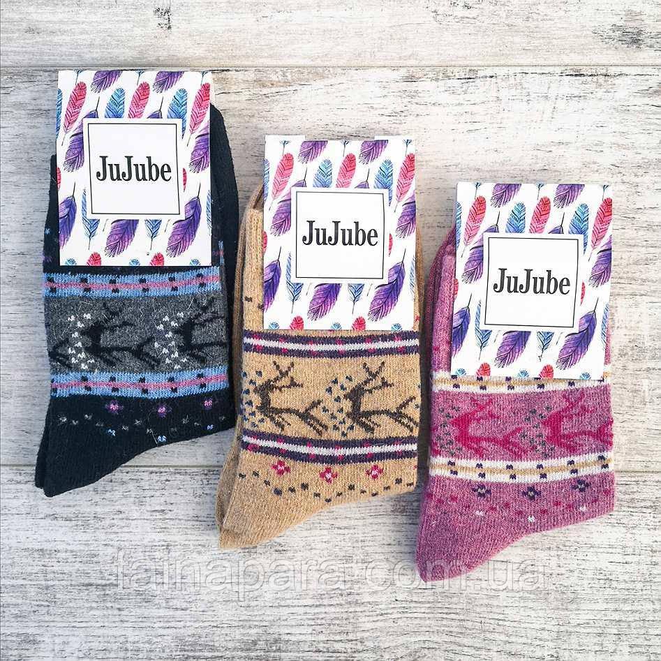 Шкарпетки жіночі шерсть кролика Jujube