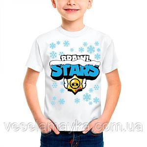 Детская футболка Brawl Stars (Новогодний)