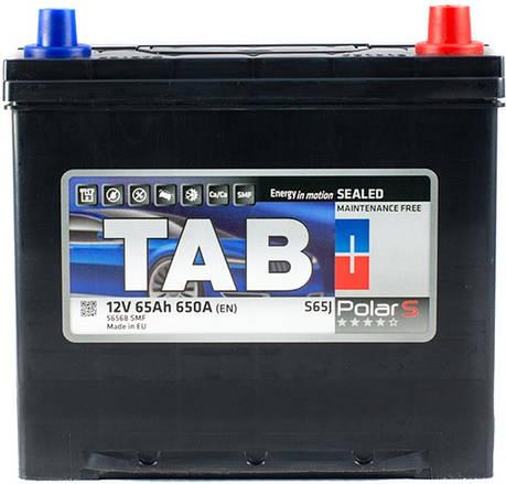 TAB 6СТ-65 Polar Автомобильный аккумулятор, фото 2
