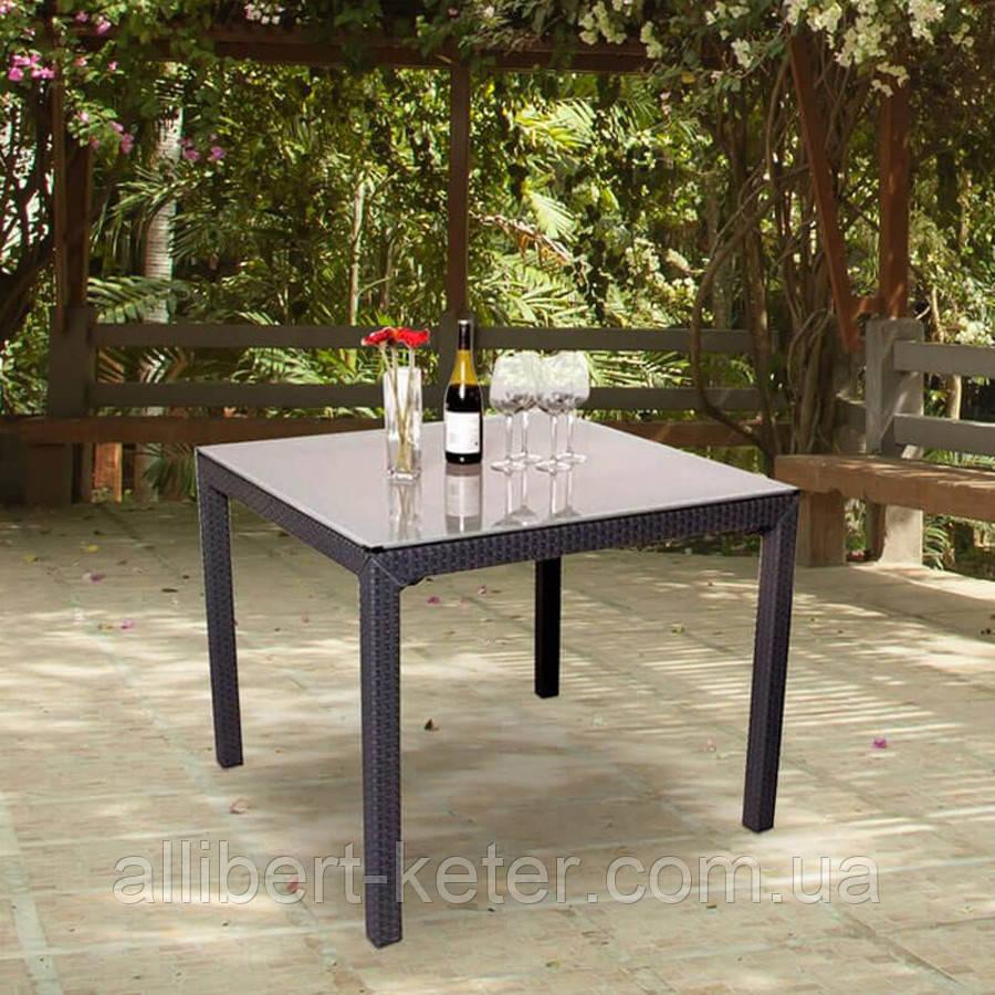 Стол садовый уличный Keter Sumatra Table из искусственного ротанга