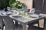 Стол садовый уличный Keter Sumatra Table из искусственного ротанга, фото 3