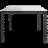 Стол садовый уличный Keter Sumatra Table из искусственного ротанга, фото 7
