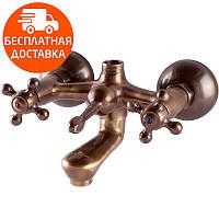 Смеситель для ванны двухвентильный Venezia Nostalji 5024901 хром