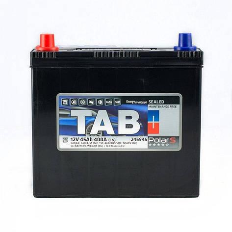 TAB Polar 6СТ-45 Автомобильный аккумулятор, фото 2