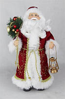 Новогодний дед мороз 30 см / санта клаус поющий